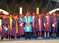 Foundation School Graduation with Pastor Praise