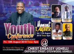 (UPCOMING) Youth Conference with Pastor Praise